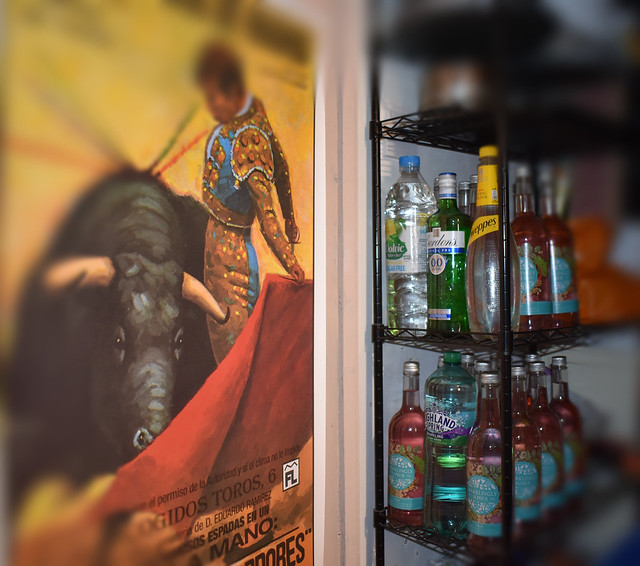 #FlickrFriday #Bottles A Matador with a lot of bottle!