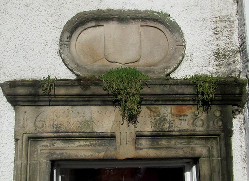 Lintel in Inverkeithing. From 1688