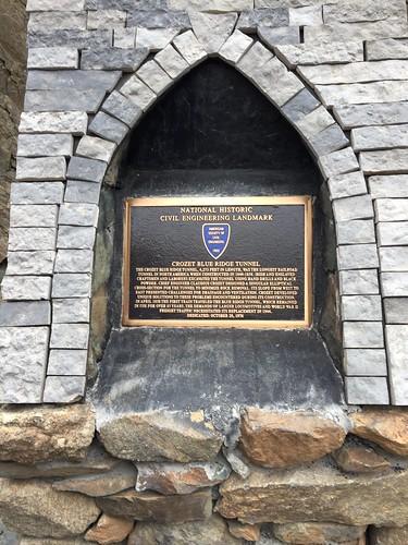Blue Ridge Tunnel, March 2021