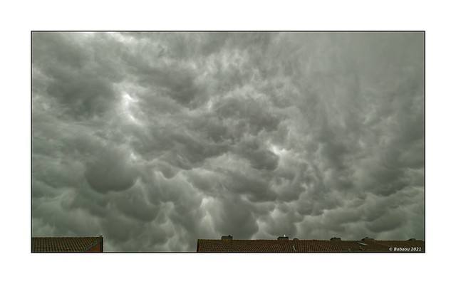 Mammatus-Wolken über Kevelaer