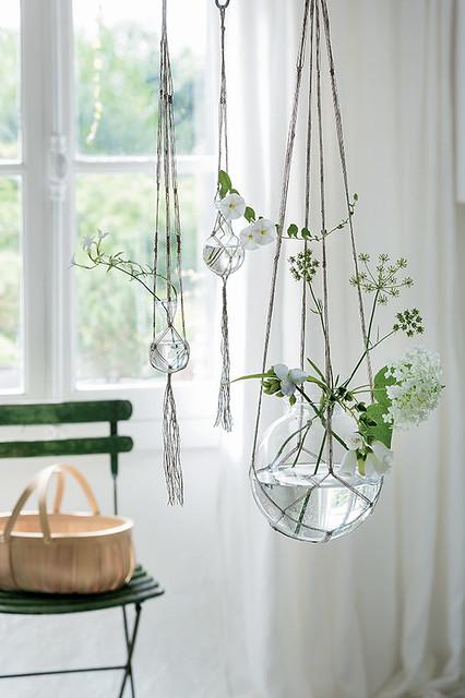 String Vase Hangers