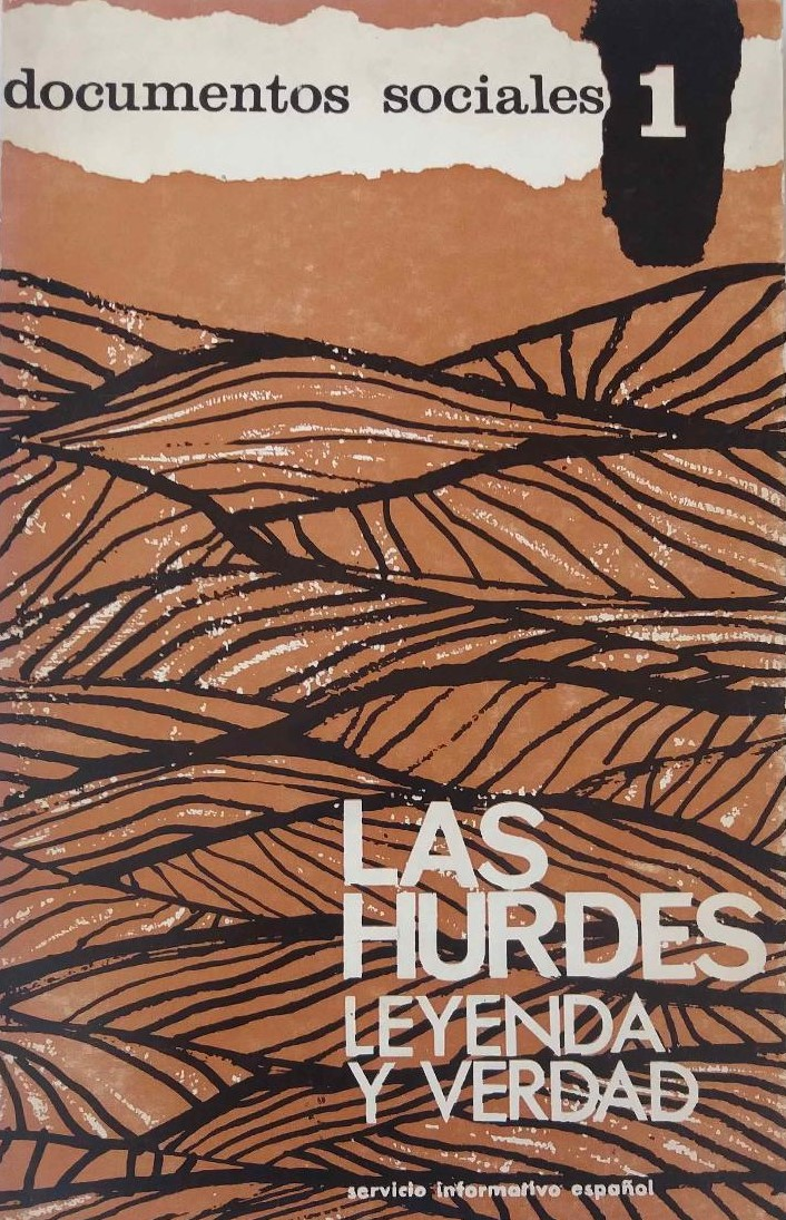 """Portada de """"Las Hurdes: leyenda y verdad"""" de Leandro de la Vega (1964)"""