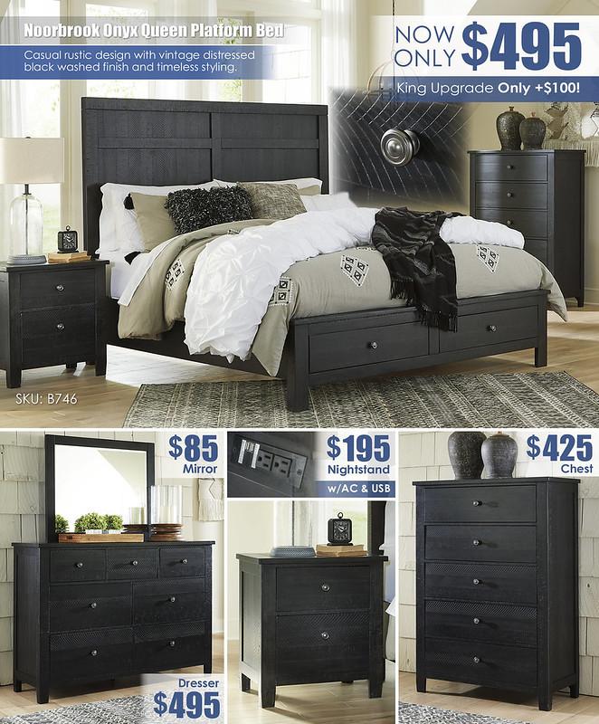 Noorbrook Onyx Queen Bed_B746_Layout_Updated