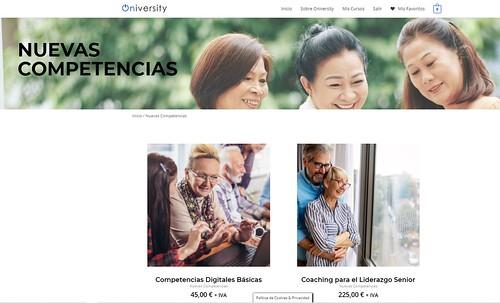 Oniversity, plataforma eLearning para personas mayores de 55 años