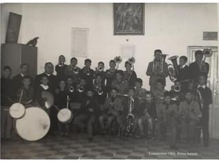 Prime lezioni di musica all'Oratorio - anni '60
