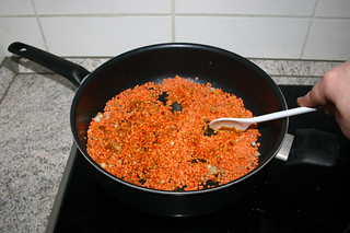 22 - Braise lentils / Linsen andünsten