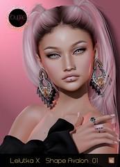 *ByMe* Lelutka X Avalon Shape 01 @ Skin Fair 2021