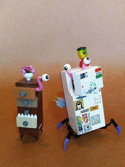 オバケ冷蔵庫
