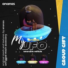 Ananas // My UFO @ Mainstore! #GroupGift