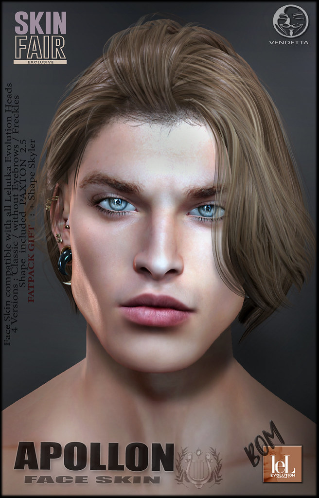 [VENDETTA]  APOLLON  for SKIN FAIR