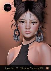 *ByMe* Lelutka X Ceylon Shape 01 @ Skin Fair 2021