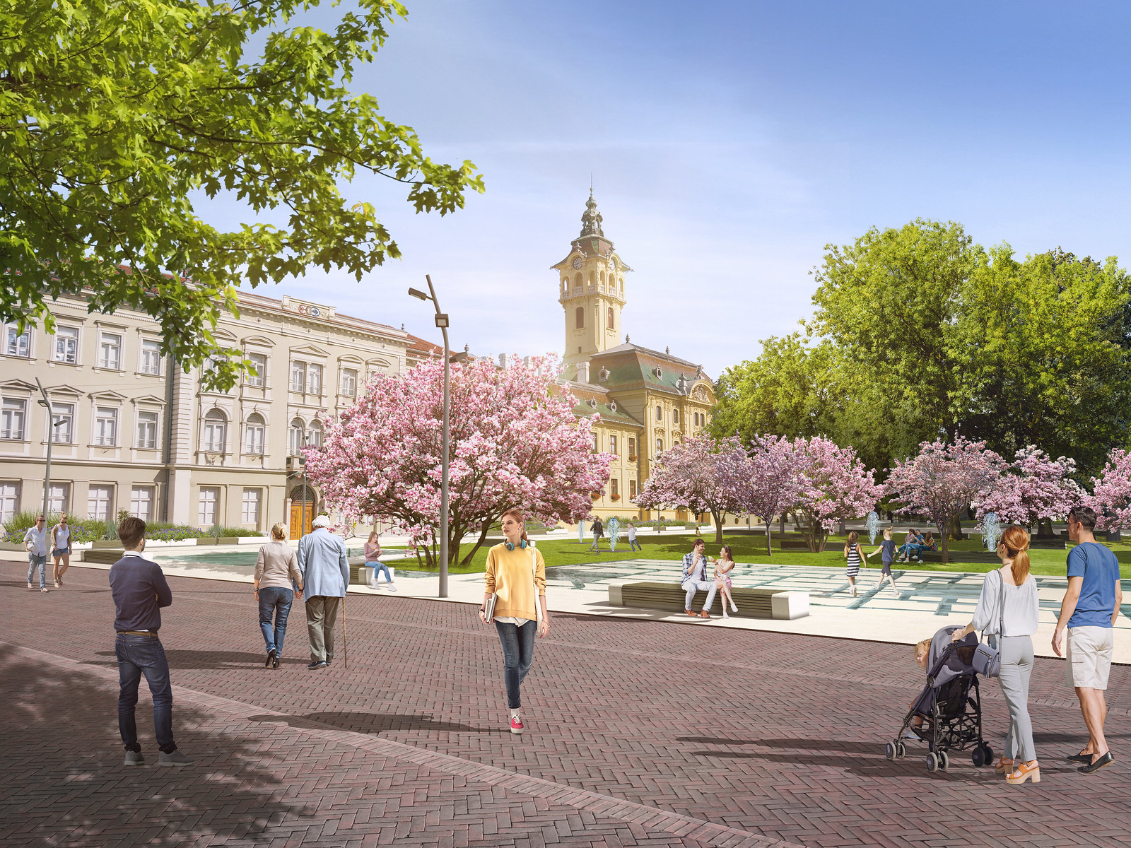Elkészültek a Széchenyi tér végleges tervei, kár hogy nem lesz belőle semmi