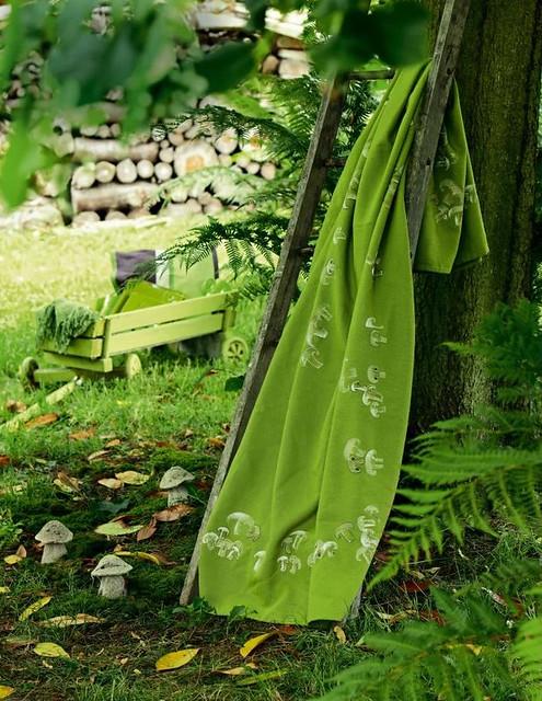 Mushroom Blanket