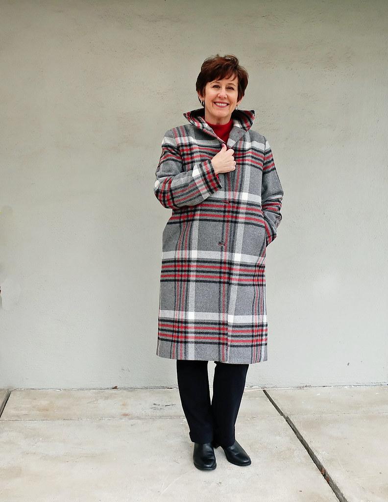 Plaid patrones coat1
