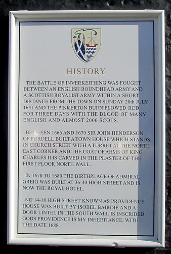 Inverkeithing History