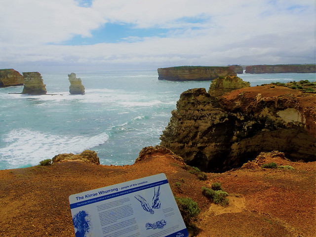 Great Ocean Road. The Bay of Islands. A series of beautiful islands beaches and stunning cliff and ocean views.