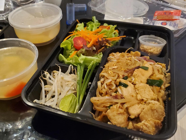 ASQ hotel bangkok meal