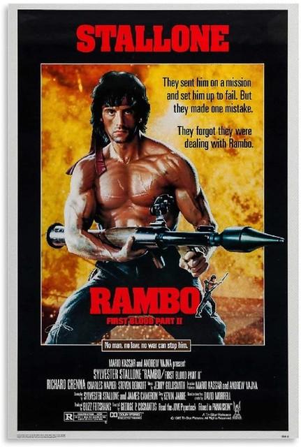 RamboFirstBloodPart2Poster