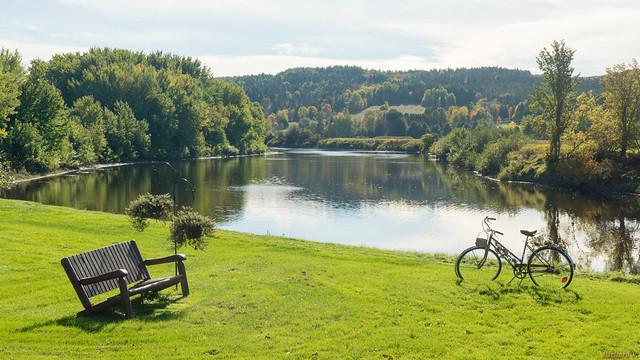 Vélo, bike - Notre-Dame-Des-Pins, P.Q., Canada - 7578