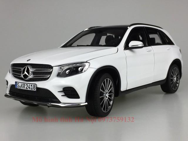 1 18 mo hinh tinh dealer Norev Mercedes Benz GLC qua tang sang trong y nghia dan ong ha noi viet nam diecast (2)