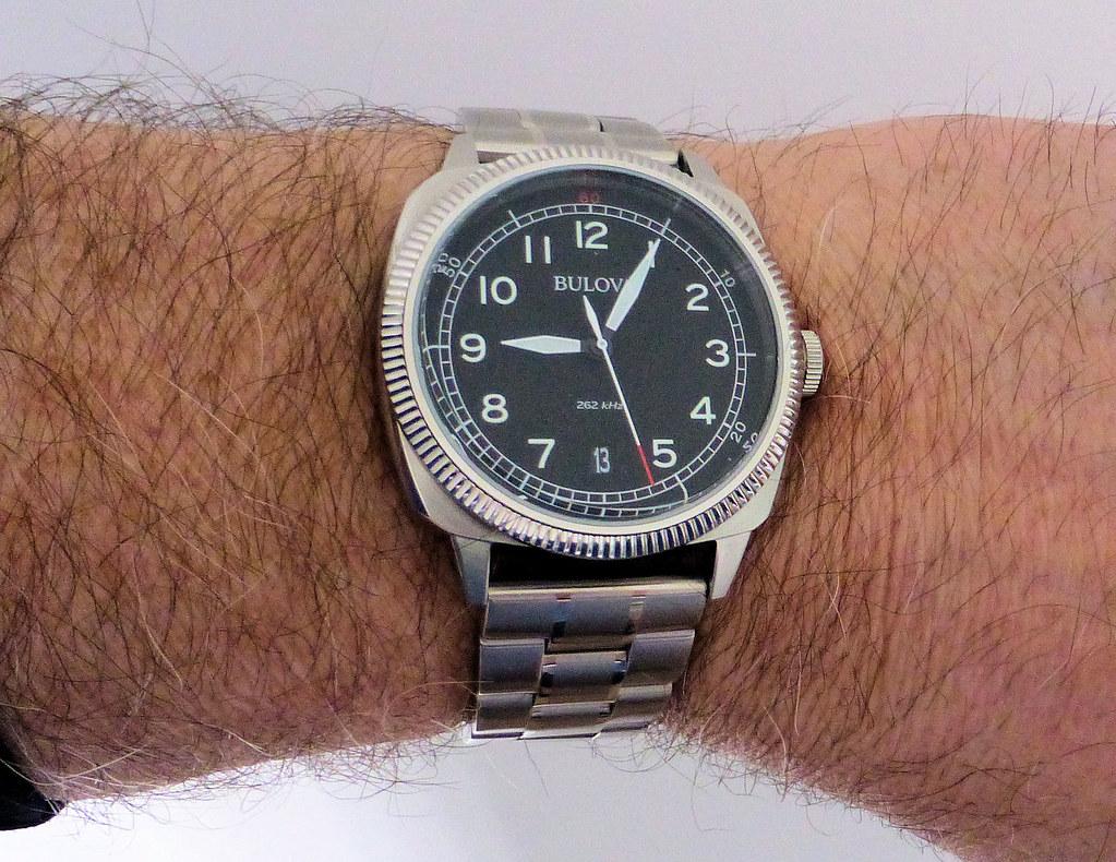 bulova military bracelet