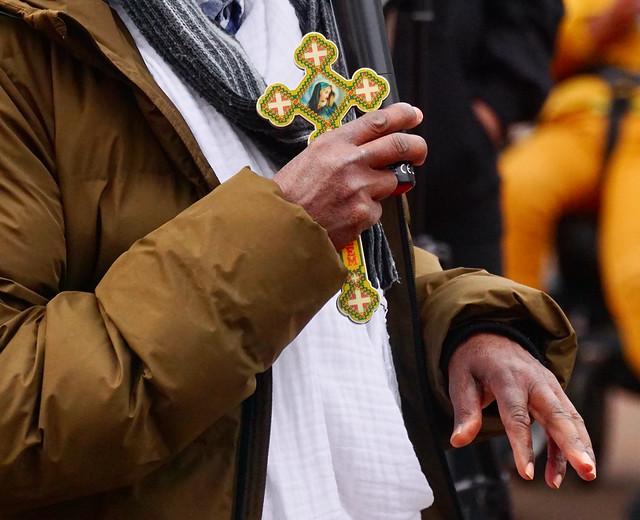 Orthodox christelijke priester uit Tigray