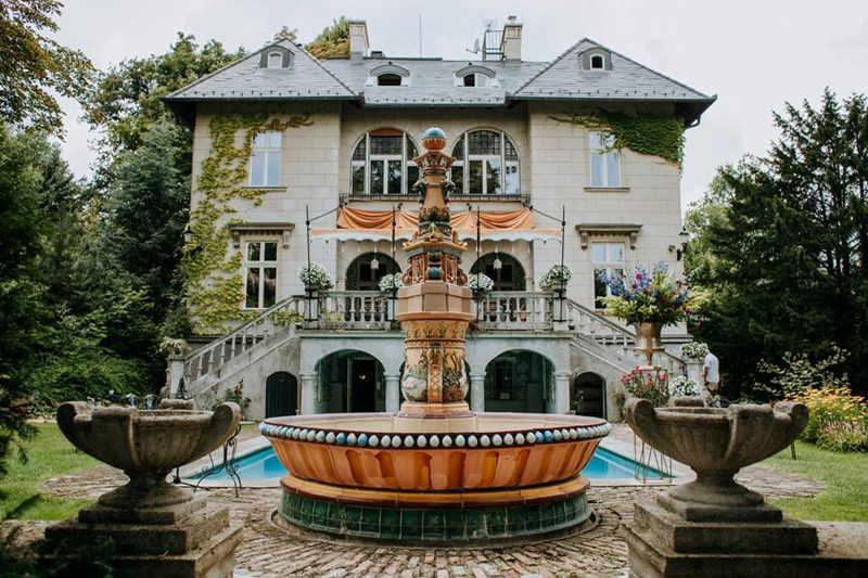 Writer's Villa in Budapest