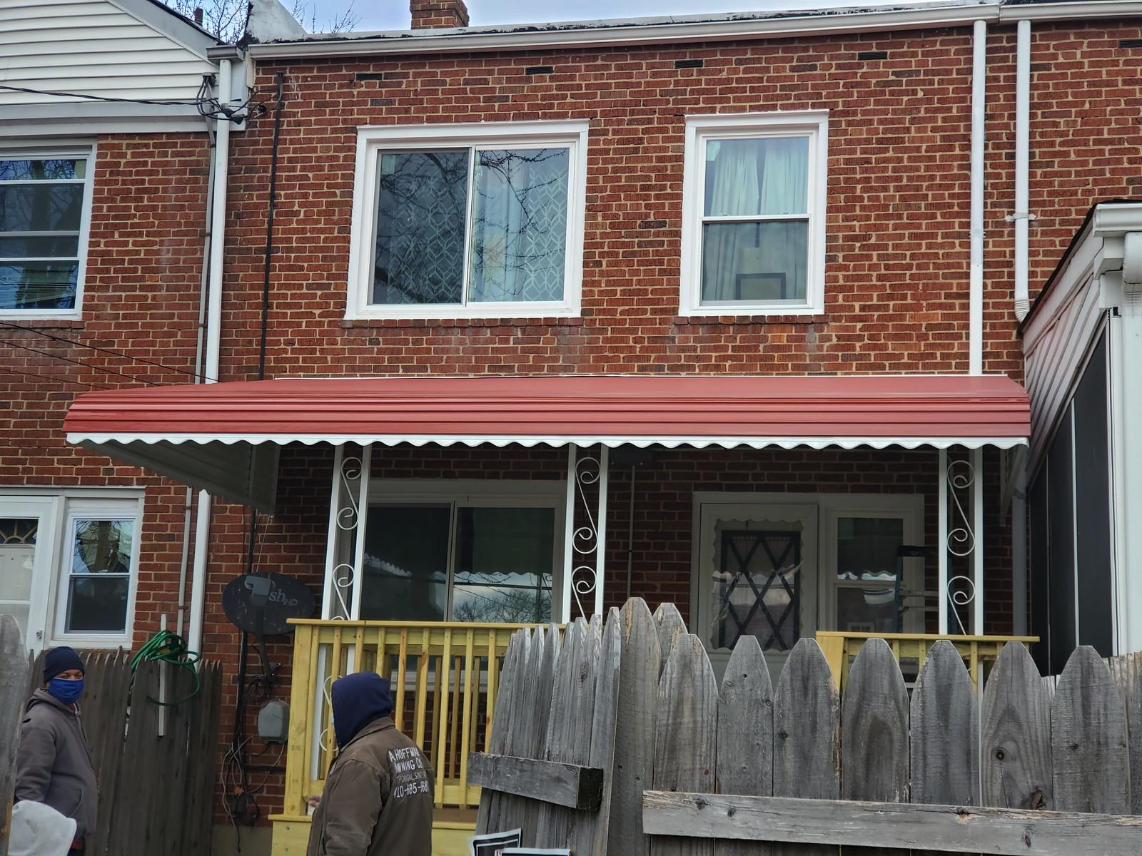 Aluminum_Awning for Porch-Baltimore-Hoffman