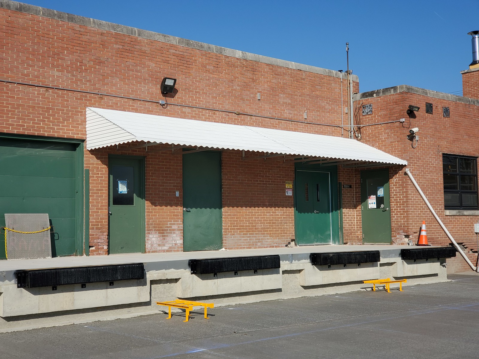 Hoffman Manufactured Commercial Aluminum Building Awning