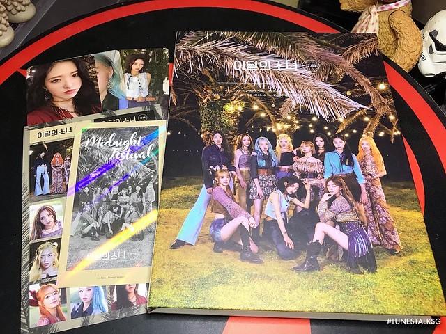 """#이달의소녀 #LOONA [12:00] """"B Version"""" album on #tunestalksg"""