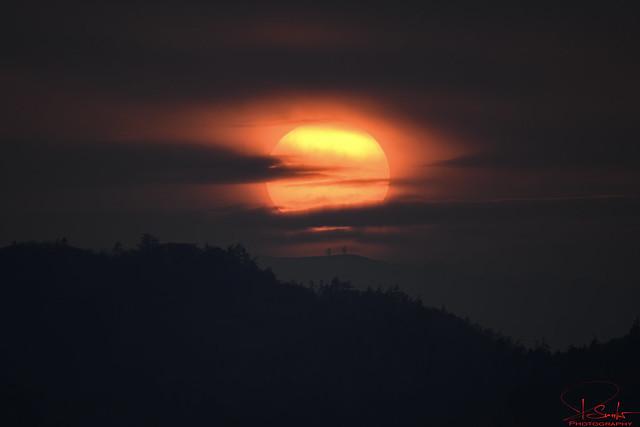 Great sunset in Kaltbrunn - Switzerland