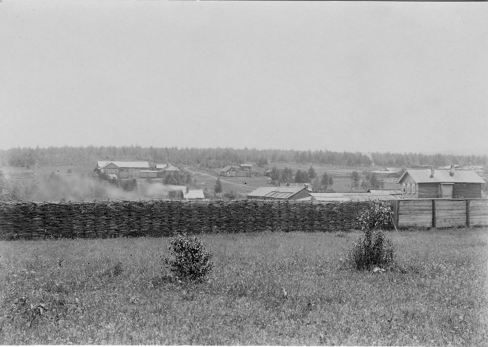 35. Деревня близ Байкала