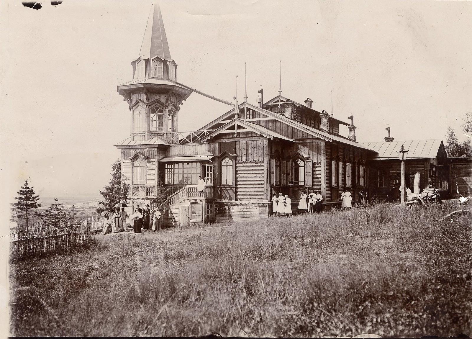 21. Дом начальника третьего строительного участка И.И.Бернатовича в Култуке