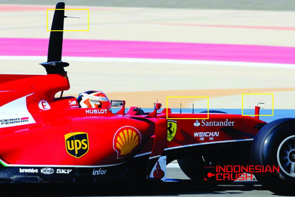 Ferrari Pitot Tube