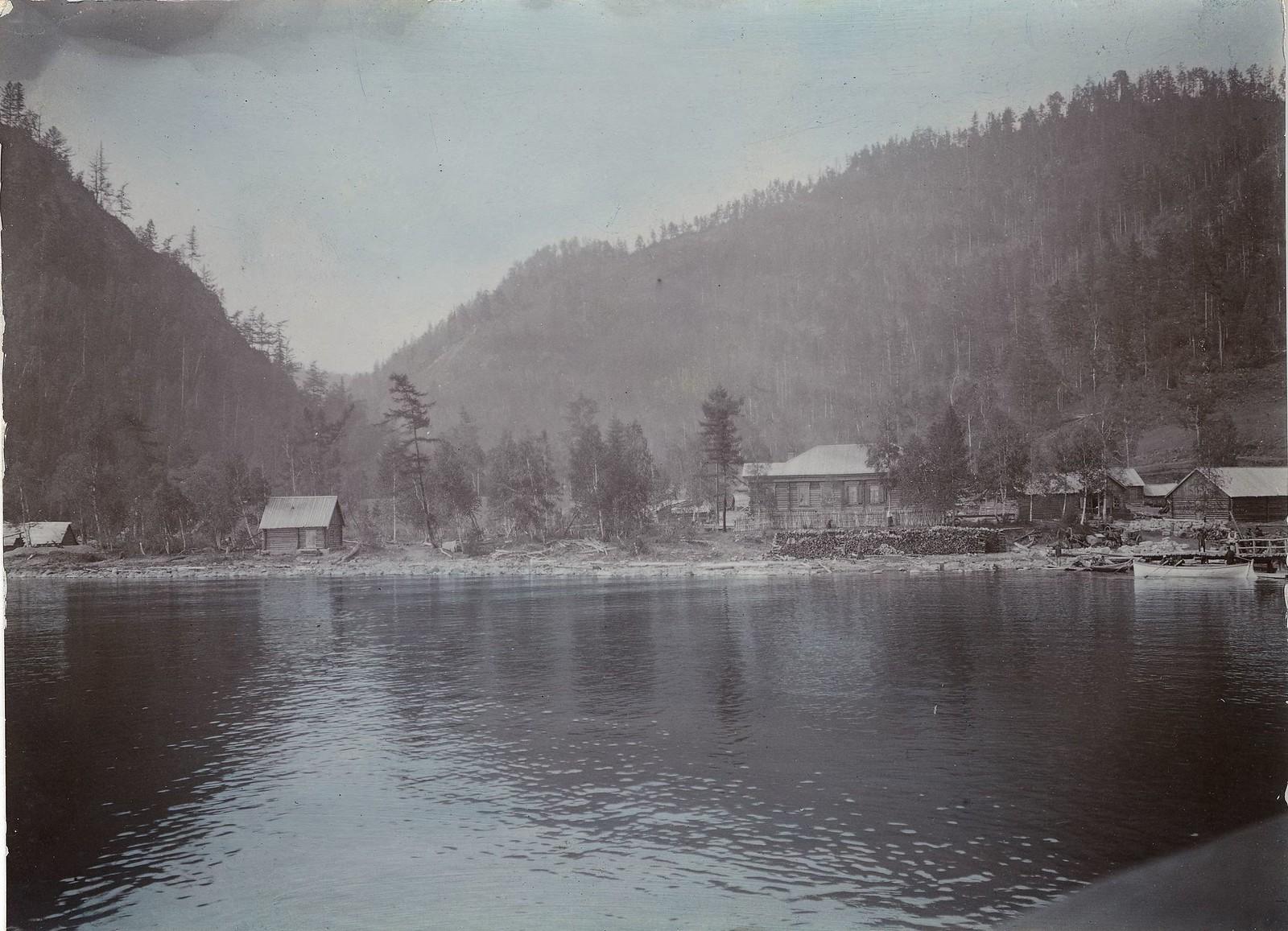 39. Селение на берегу Байкала