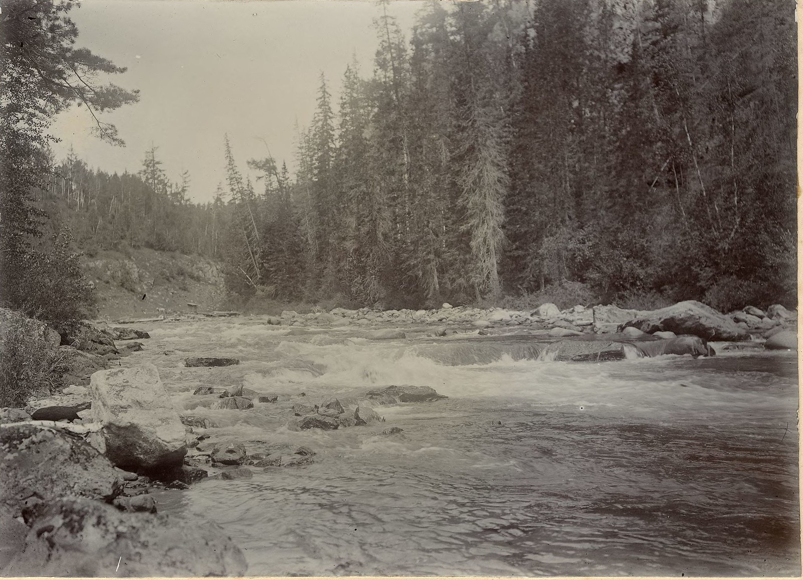 31. Вид горной реки