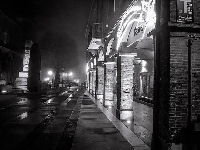 Foggy night ...