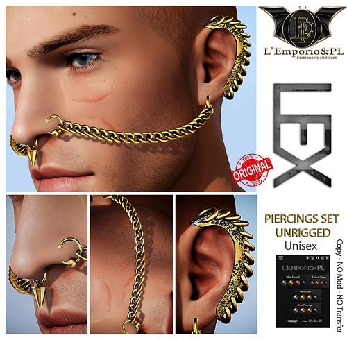 L'Emporio&PL::*LEX*:: -Piercings Set-