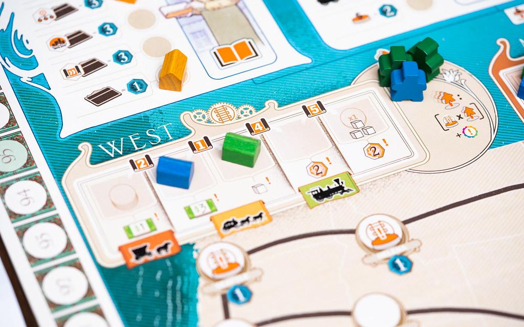 Carnegie boardgame juego de mesa