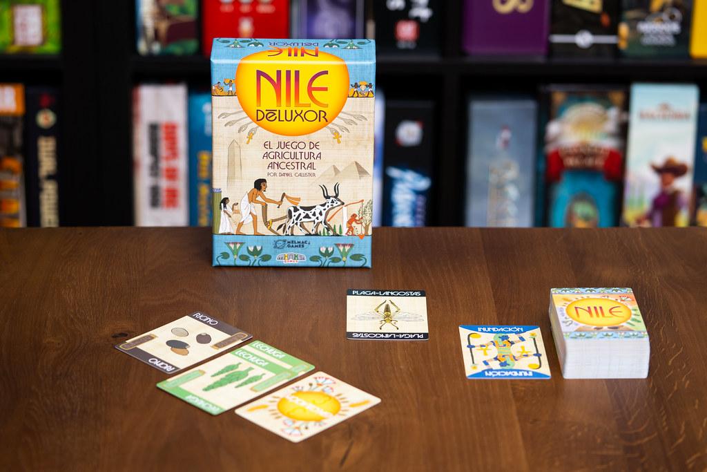 Nile Deluxor boardgame juego de mesa