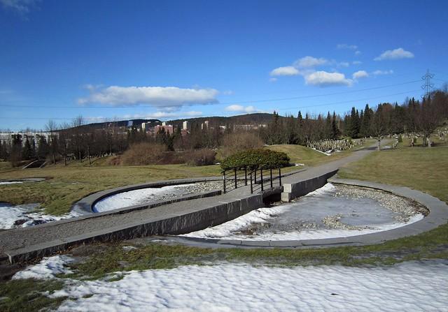 Alfaset gravlund – minnepark I