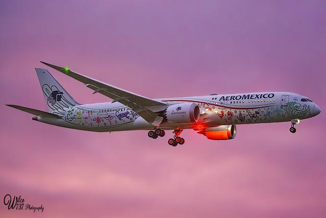Aeromexico Boeing 787-9 (XA-ADL)