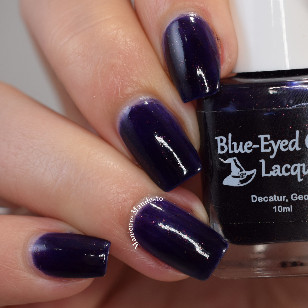 Blue Eyed Girl Lacquer We Fly With Our Spirit review