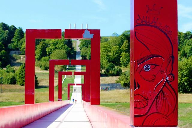 France - Cergy Pontoise - Axe Majeur - The eye