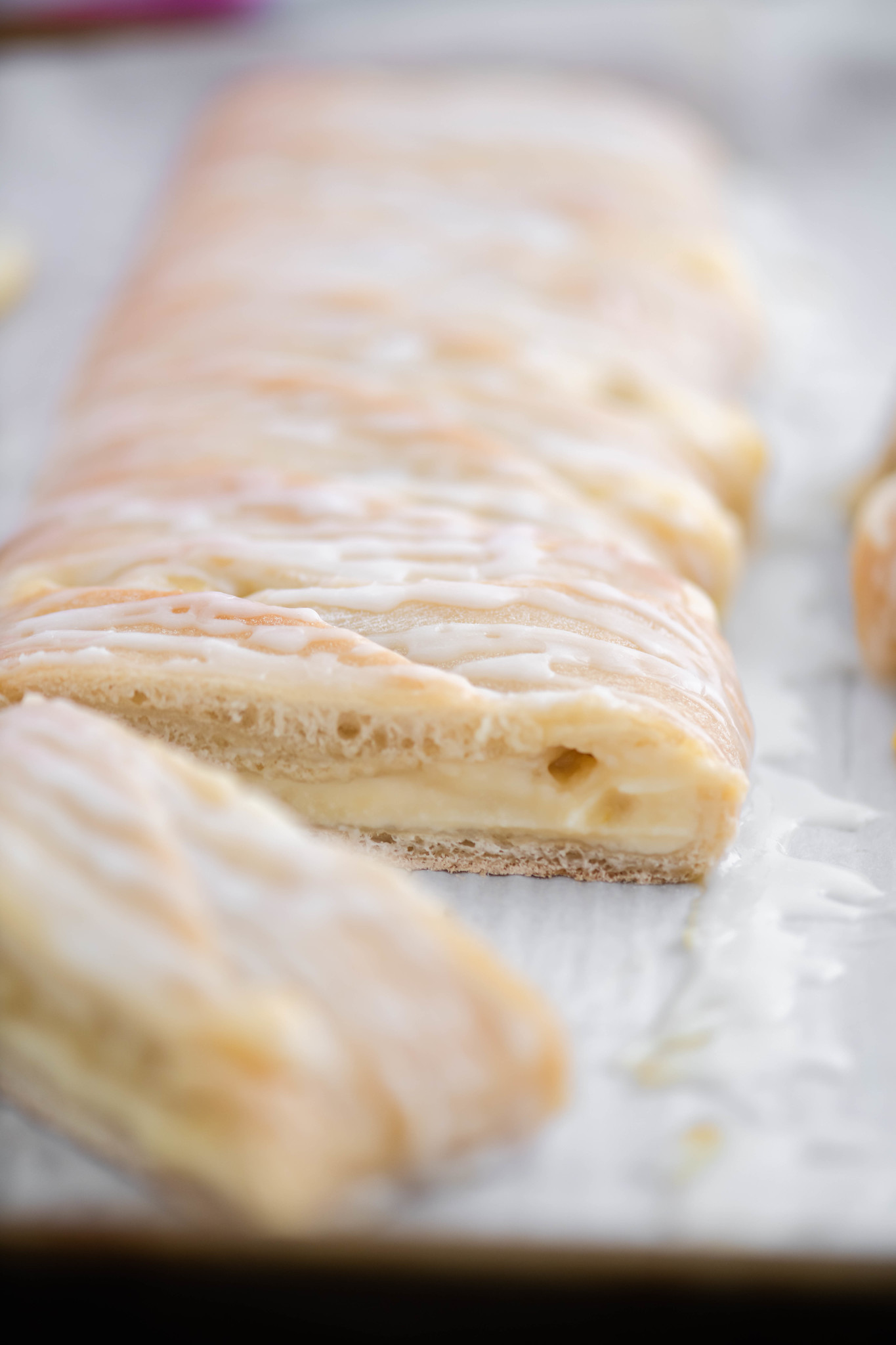This Lemon Cream Cheese Braid is Easter brunch perfection. Start with Rhodes sweet dough and a few simple ingredients to make this holiday stunner.