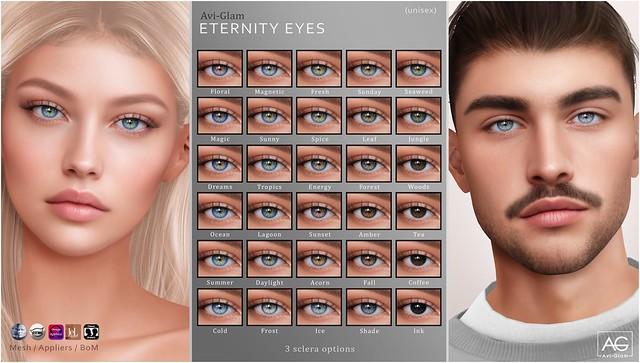 AG. Eternity Eyes @Skin Fair
