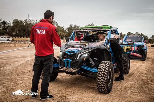 Fenix Rally 2021 scrutineering