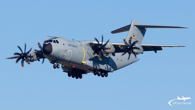 TLV - ** Rare ** German Air Force Airbus A400 54+20