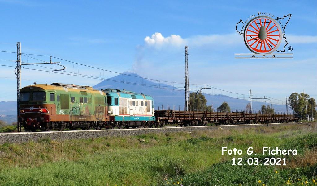 131 - Marzo 2021 -Il Vulcano e il Treno 51032801653_07ef6d5964_b