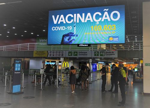 Vacinômetro permite acompanhar vacinação no DF